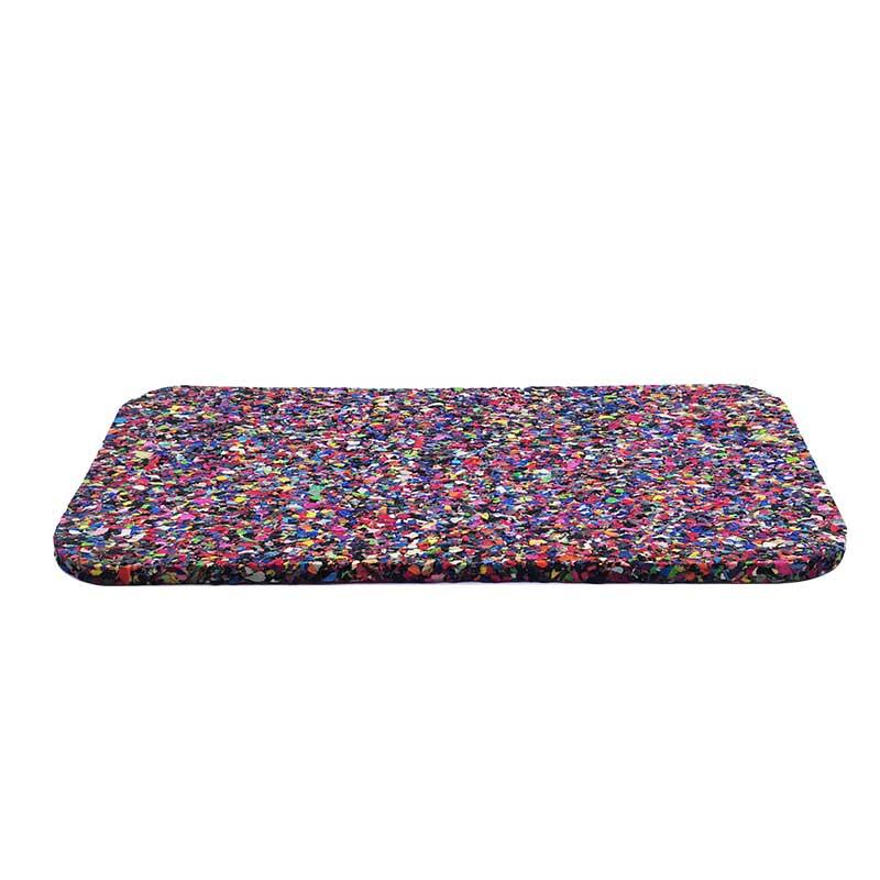 聚氨酯楼板橡胶隔音垫专业厂商-郑州建筑楼板聚乙烯减震垫板