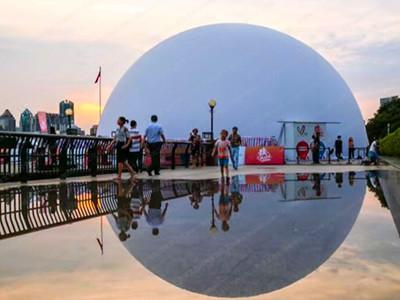 投影球幕價格-專業投影球幕就找谷穗文化