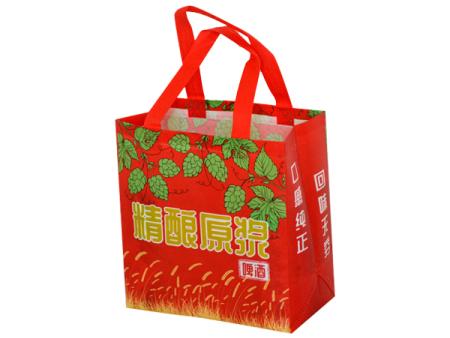 无纺布广告袋生产厂家《想念你的好》无纺布广告袋设计