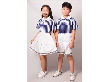 小學生校服套裝-文欽服飾供應新品小學生校服