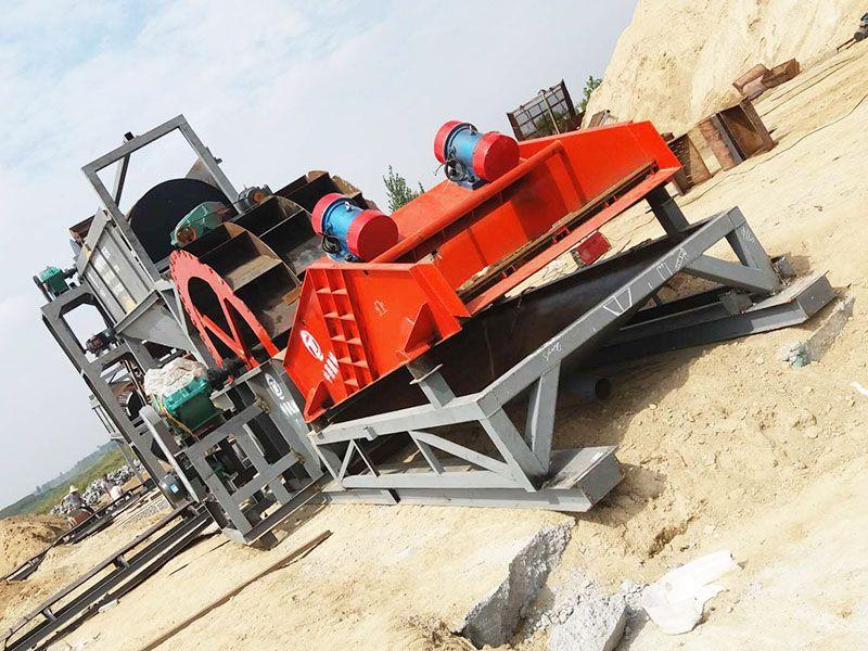 有质量,有销量!破碎洗沙机厂家——破碎洗沙机价格