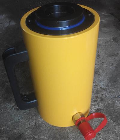 抛售张拉千斤顶-德州高品质20吨空心预应力张拉千斤顶批售