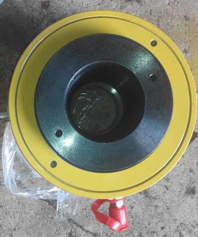 崭新的张拉千斤顶-德州品牌好的20吨空心预应力张拉千斤顶销售