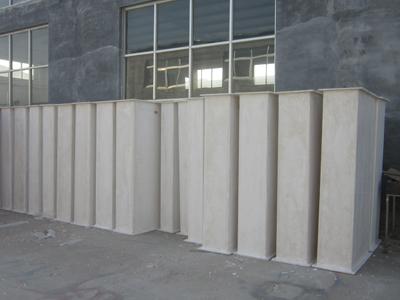 诺凌无机玻璃钢通风管道定制加工提供安装服务