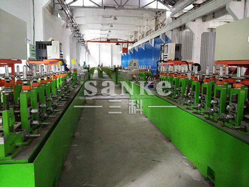 钛焊管机厂家生产找三科不锈钢