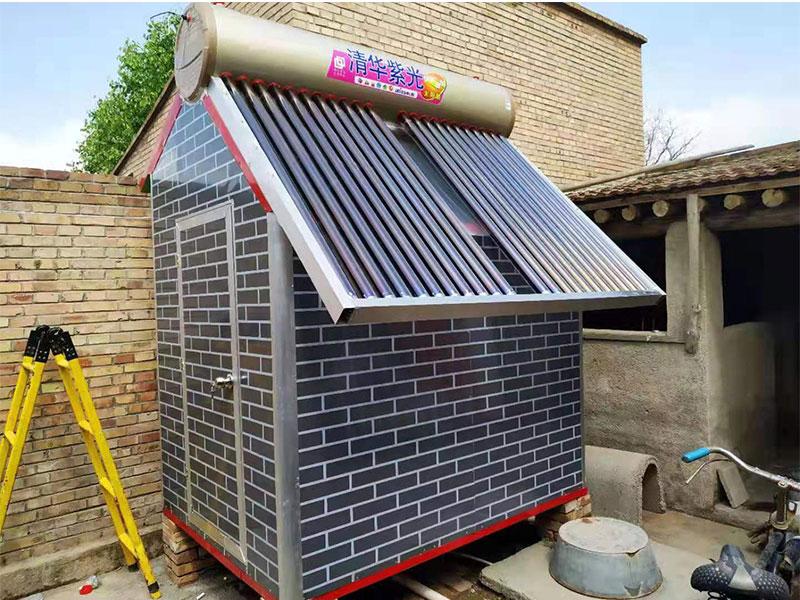 白銀戶外洗澡房價格-大量供應質量好的甘肅太陽能整體浴房