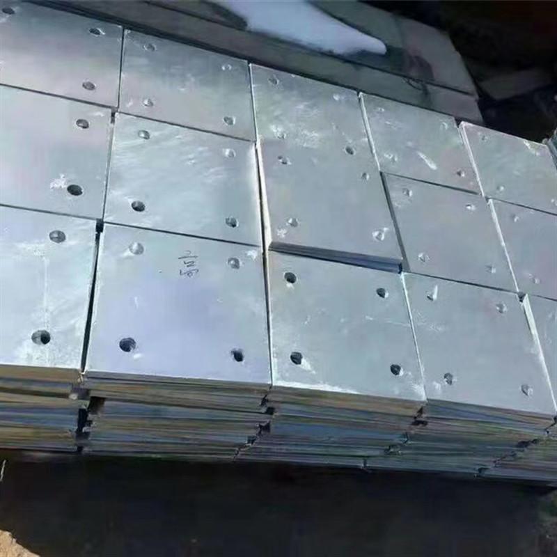 河北巨鲸厂家直销大型剪板-预埋板-镀锌预埋铁板批发