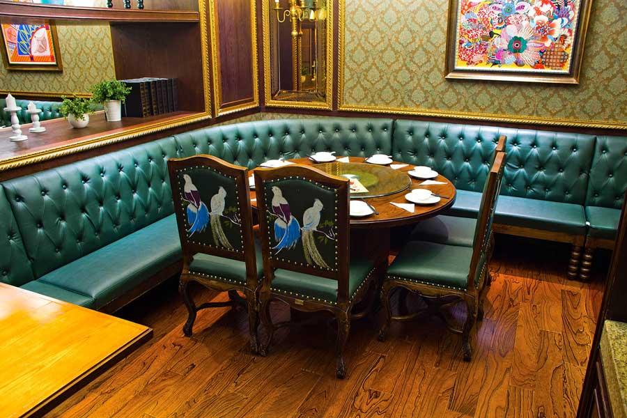 时尚餐厅家具
