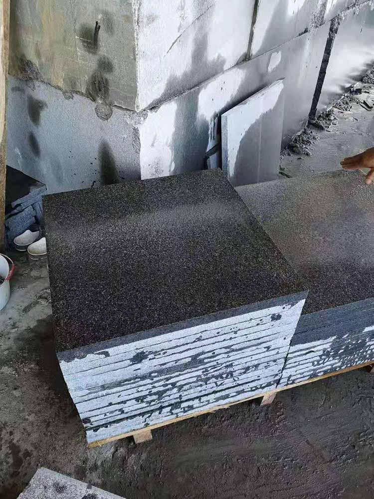柬埔寨芝麻黑石材