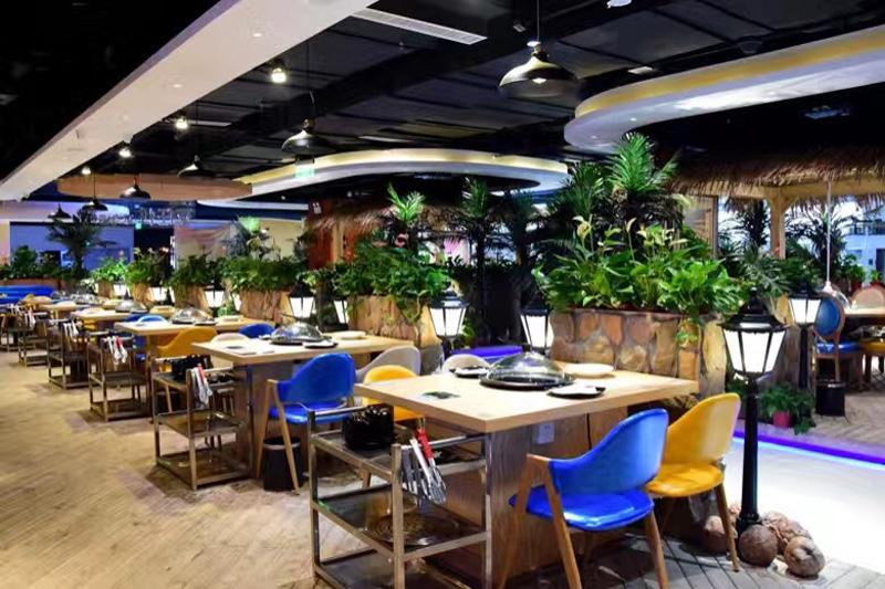 武汉火锅店家具,火锅店家具,火锅店餐厅家具