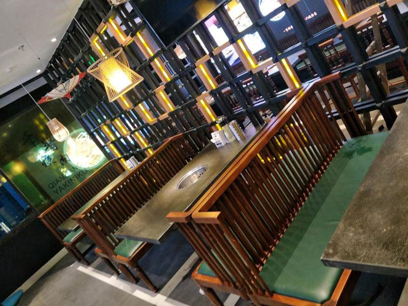 合肥火锅店,火锅店桌椅,火锅店的桌椅