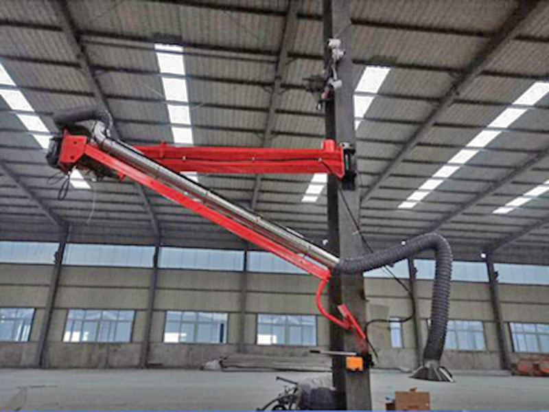 自动化焊接设备厂家/二氧化碳焊接吸尘臂专利/悬臂式送丝机定制