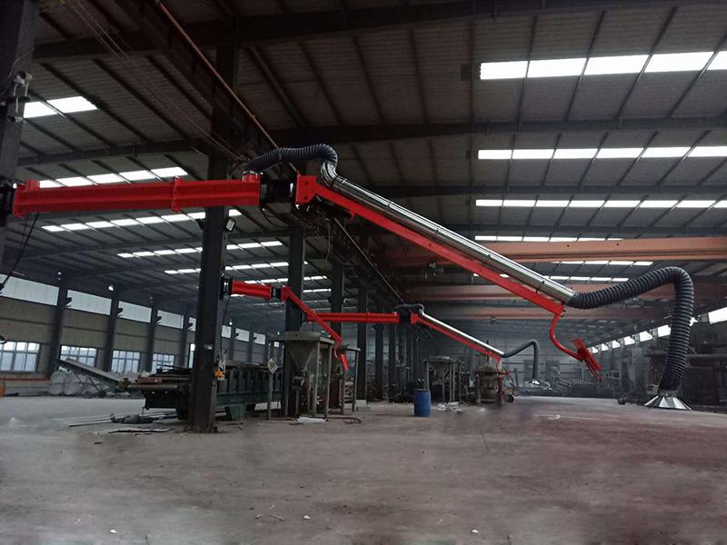 江苏自动化焊接设备/百润焊接吸尘臂厂家/送丝机焊接支架定制