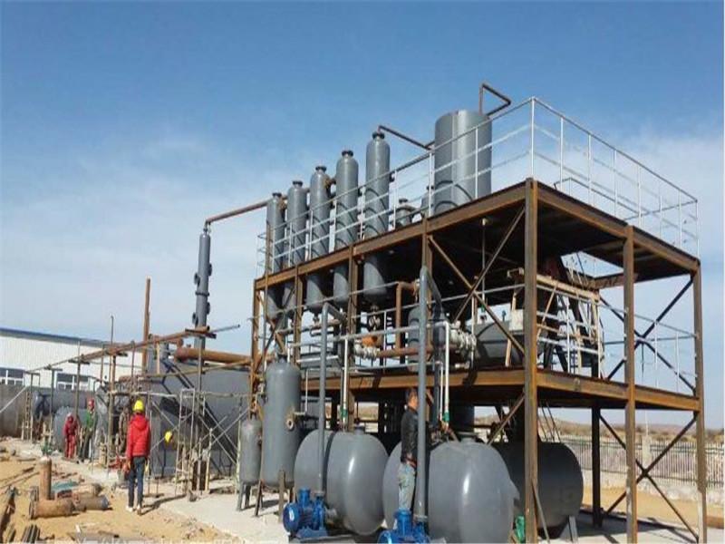 廢機油精餾設備的前景_大量供應廢機油煉油設備
