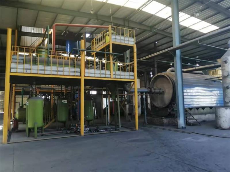 废机油再生基础油生产设备-亚科环保供应厂家直销的废机油炼油设备