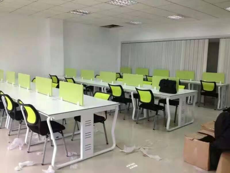 六安办公家具|合肥品质钢架组合办公桌