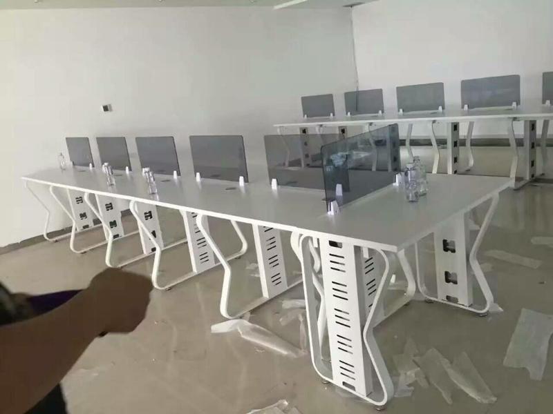 合肥办公家具厂-合肥钢架组合办公桌哪家好盛百森办公家具厂家