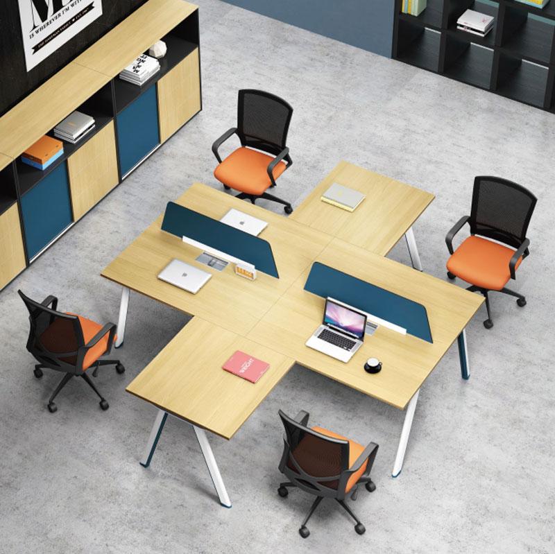 合肥员工办公桌-合肥新品组合桌盛百森办公家具厂家直销