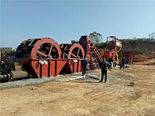 洗沙破碎機-鑫恒環保洗沙破碎機廠家供應