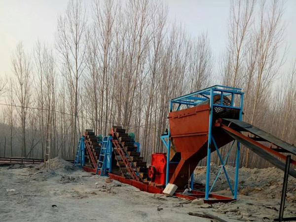 河南破碎洗沙機-哪里能買到報價合理的洗沙破碎機