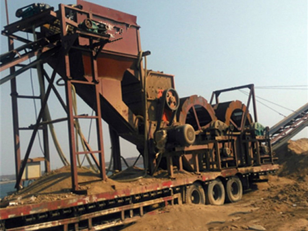 【新鲜出炉】洗沙破碎机订做——破碎水洗沙设备供应商