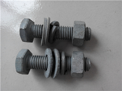 热镀锌国标螺栓-热镀锌护栏螺丝厂家-沧州热镀锌螺丝厂家