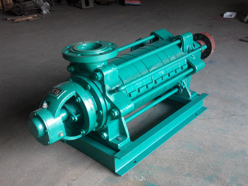 MD155-67*7礦山用耐磨多級清水離心泵-新鄉豫通生產