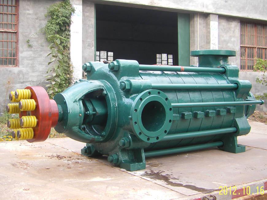 豫通工業泵廠_信譽好的MD型礦用耐磨多級清水離心泵提供商 中國專業的MD煤礦用耐磨多級清水離心泵