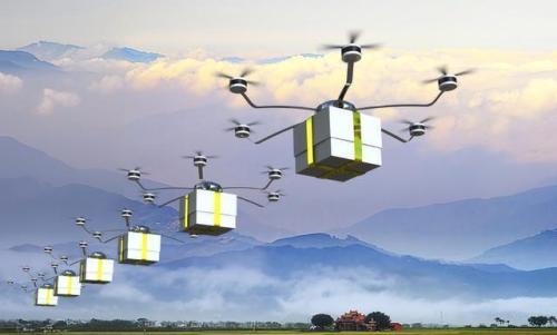 物流无人机长续航安全固态锂电池