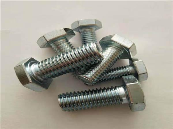 六角螺栓鍍鋅-普通六角頭螺栓國標號-十字六角頭螺栓國標