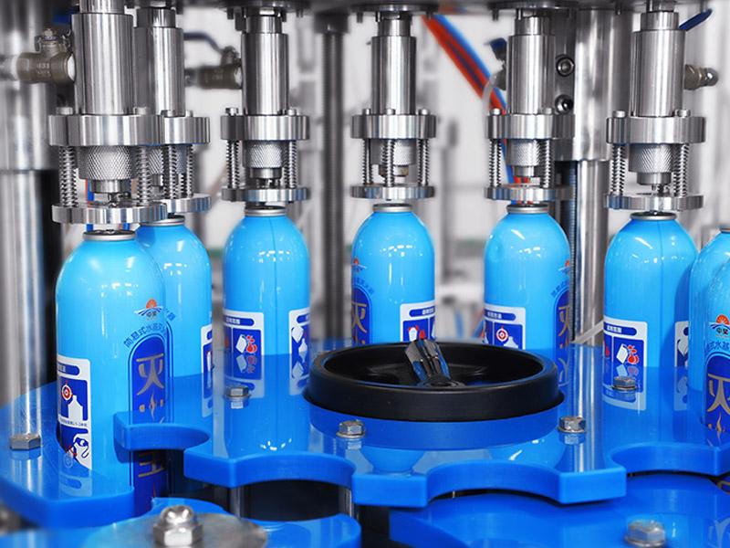 中國化妝品氣霧劑灌裝機-供應湖北好用的氣霧劑化妝品灌裝生產設備
