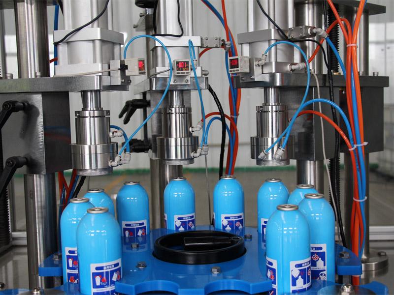 供应气雾剂灌装机-哪里可以买到气雾剂灌装机