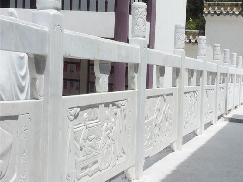 仿汉白玉桥栏杆-供应山东省物超所值的石栏杆