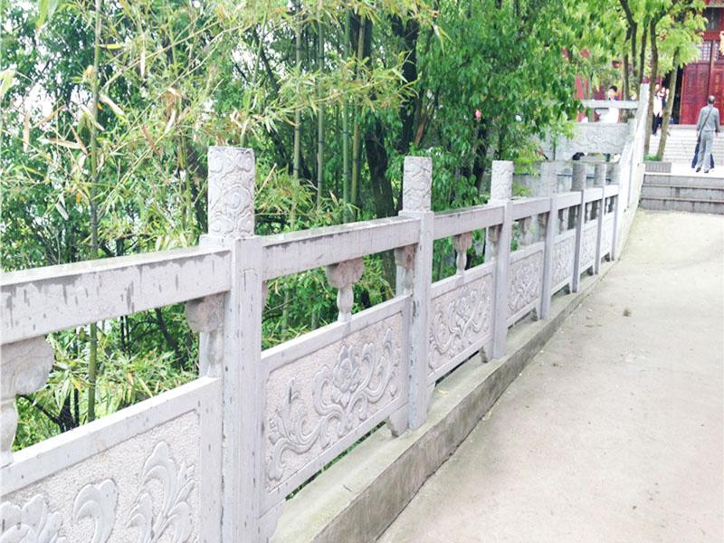 晚霞红河道栏杆-质量好的石栏杆尽在融岩石业