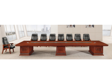 实木油漆会议桌
