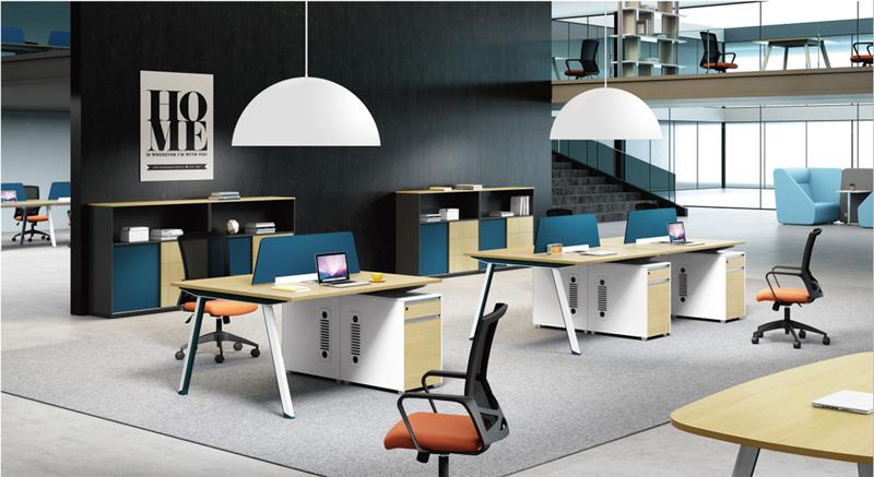 办公桌_哪里能买到品质办公桌椅合肥盛百森厂家定制办公桌椅