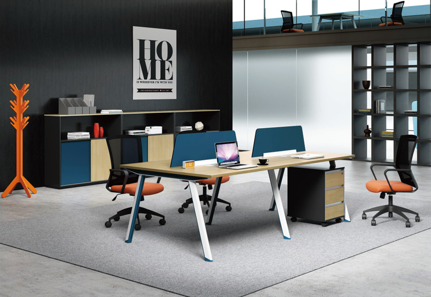合肥实木办公桌-供应盛百森办公家具材质好的办公桌椅