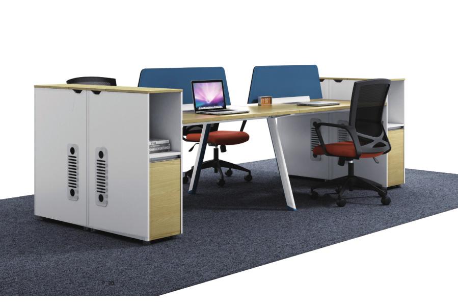 简约办公桌椅-时尚办公屏风卡位生产厂家