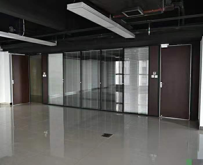 合肥办公室玻璃隔断供应商盛百森办公家具厂家定制生产