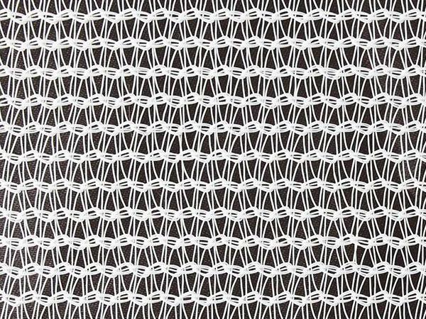 白色圆丝遮阳网