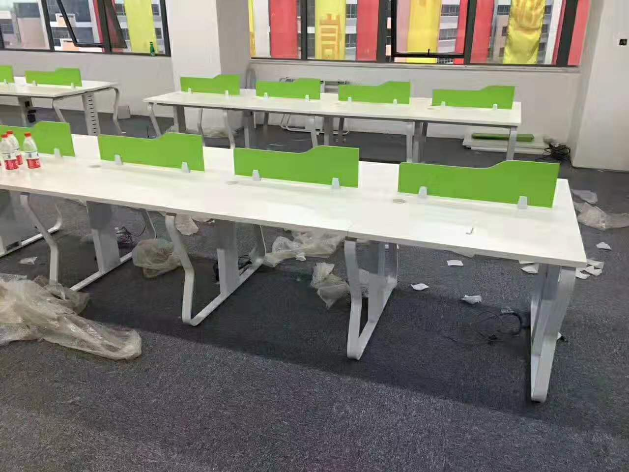 办公室装办公桌|盛百森办公家具专业供应合肥职员办公桌