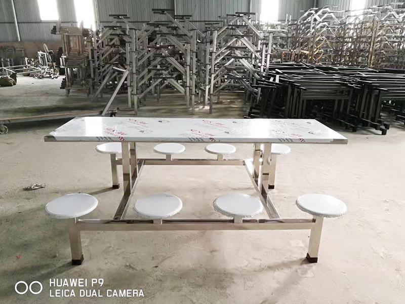 山东划算的食堂餐桌椅出售 定做学校食堂餐桌椅