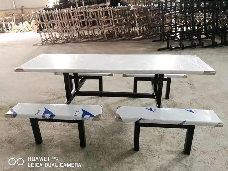 浙江省大宗商品需求广杰厨业质量好的食堂折叠餐茶桌椅组合-学校食堂折叠餐茶桌椅组合批发