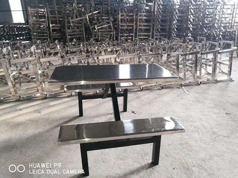 滨州超值的不锈钢食堂折叠餐桌统销-304不锈钢折叠餐桌