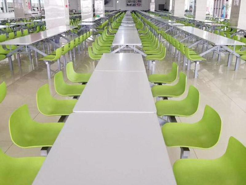 供应性价比高的食堂餐桌椅 学校食堂餐桌椅供应