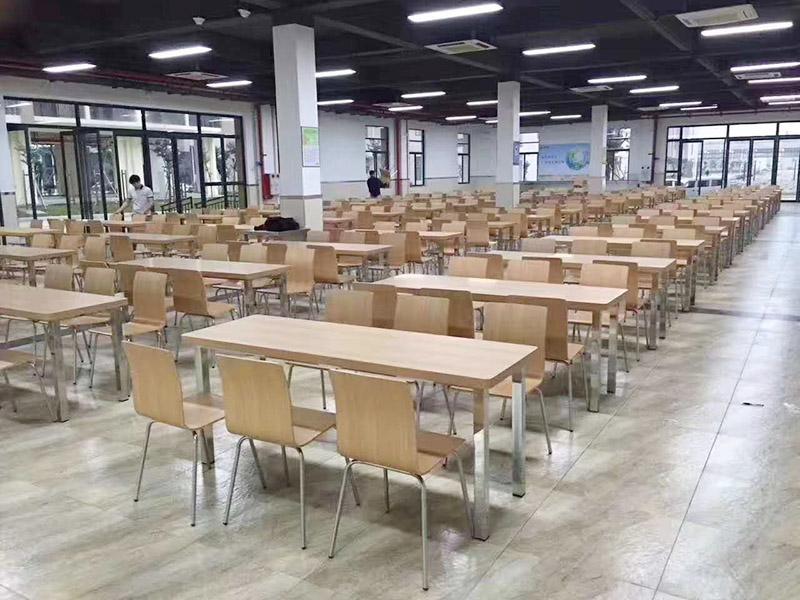滨州何方有浙江省大宗商品需求事业单位在线食堂折叠餐茶桌椅组合-餐厅折叠餐桌工厂