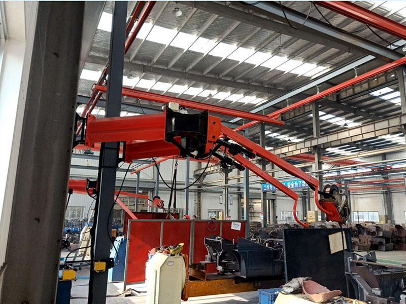 多种规格销售矿山施工设备环保焊接吸尘臂360度自由旋转升降型