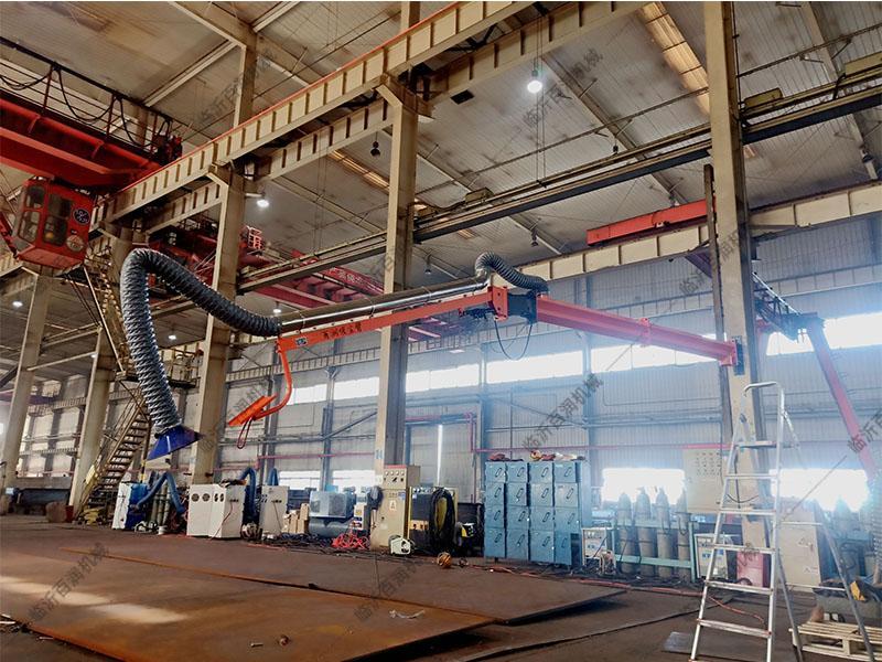 百潤正品促銷自動化焊接設備二保焊機伸縮支架焊接吸塵臂高效凈化