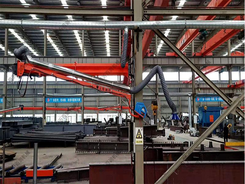 二保焊機車間焊接懸臂 彈簧式焊接架 送絲機械臂山東江蘇湖北