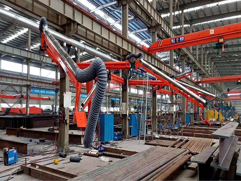 臨沂百潤 環保萬向柔性吸塵臂型號材質配套齊全廣泛熱賣中